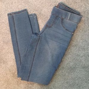 EUC Justice girls mid rise soft jeggings